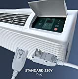 COOPER AND HUNTER 15,000 BTU PTAC Packaged Terminal Air Conditioner With Heat Pump PTHP Heating And Cooling With Electric Cord
