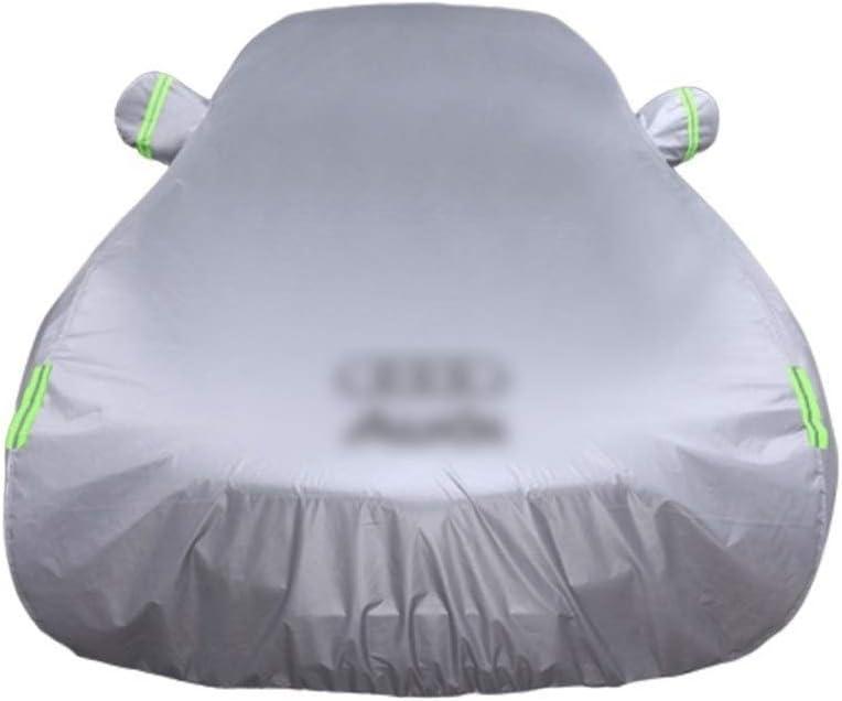 GAOY-CAR COVERS Compatible con Audi A4L A6L Q3 Q5 A3 A5 A7 A8 TT Cubierta del Coche Especial de Aislamiento Protector Solar Lluvia Color : A, Size : A7