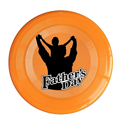 VOLTE Happy Father's Day Orange Flying-discs 150 Grams Outdoor Activities Frisbee Star Concert Dog Pet - Day 1 Sale Ban Ray