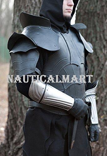 NauticalMart Renaissance Armor Steel Armor Bracers by NAUTICALMART