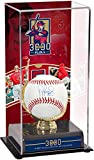 Albert Pujols Los Angeles Angels Autographed Baseball and 3,000 Career Hits Sublimated Display Case with Image - Fanatics Authentic Certified