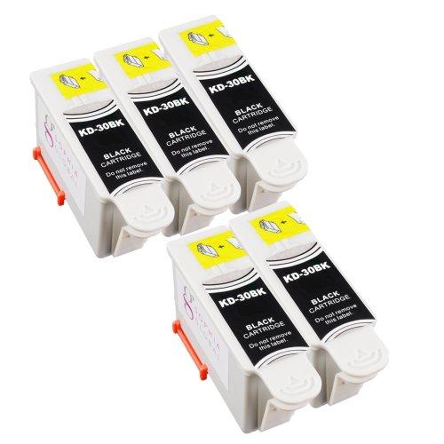 Sophia Global Compatible Ink Cartridge Replacement for Kodak 30 (5 Black)