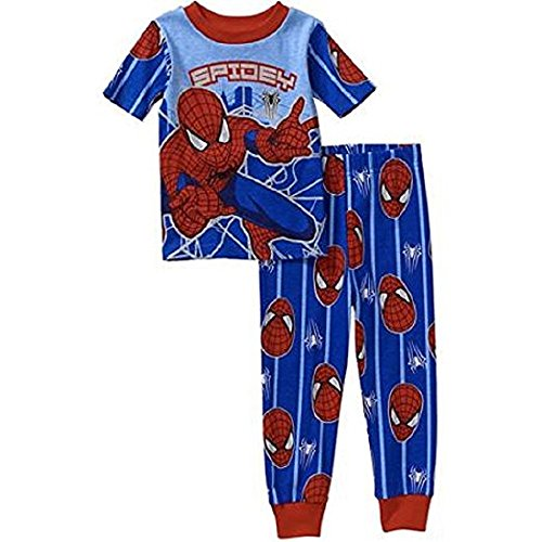 Spiderman Toddler Boy Short Sleeve Pajamas
