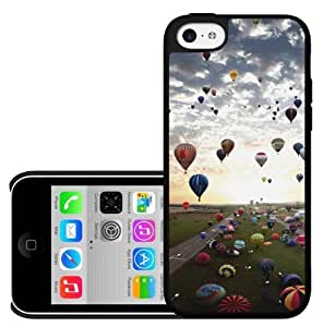 Hot Air Balloons Hard Snap On Case (iPhone 5c)
