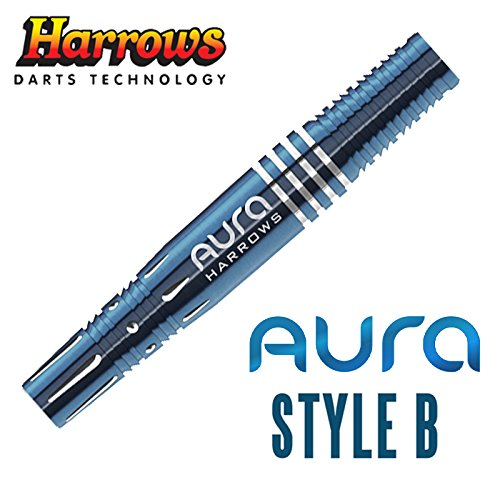 ダーツバレル HARROWS AURA 95% Style B 18gR [ハローズ オーラ スタイルB]