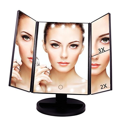 Wall Mirror With Led Lights - 7