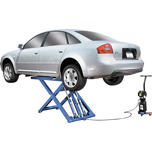 BendPak Portable Mid-Rise Scissor Car Lift - 6000-Lb. Capacity, Gray, Model Number MD-6XP