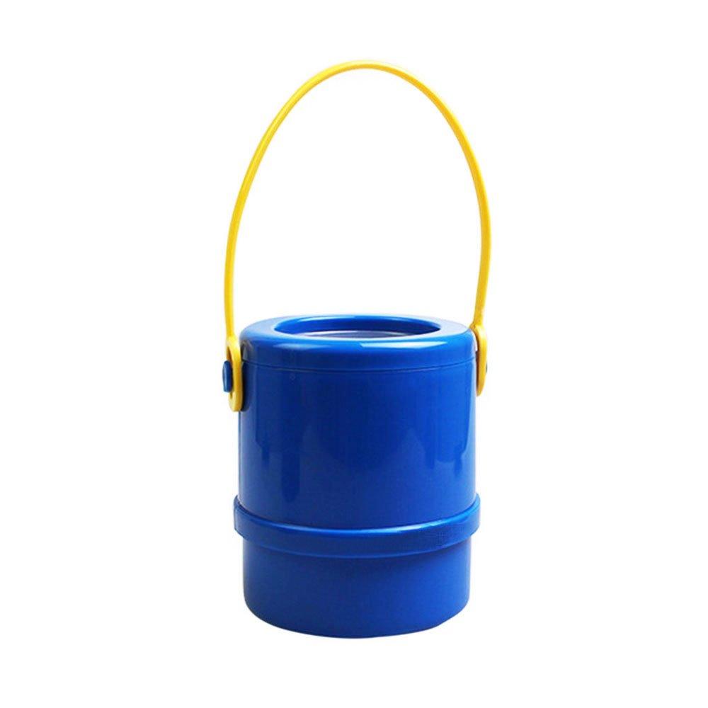 Auto telescopica porta ombrello, ombrello pieghevole telescopica auto barile, Yoczox Portable retrattile auto ombrello Storage box, allungabile secchio design per la casa o auto interni utilizzando, blu