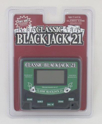 Classic Blackjack 21 Electronic Handheld Game Electronic Games by John N. Hansen