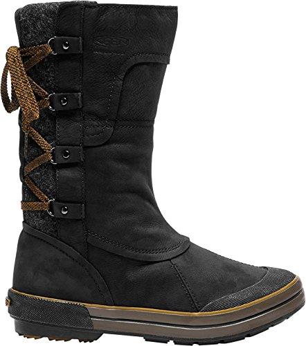 Women's Boot Zip Black WP Elsa Premium Keen 4X1dnxwqOq