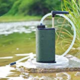 Camping Equipment 0.01 Micron Water Purifier 3-Stage Nanofiltration Water Filter 1500L Carbon Filter Water Purifier Outdoor Water Clarifier