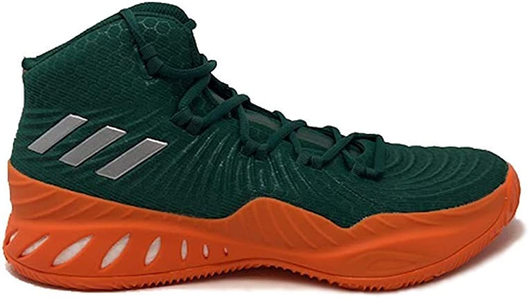 5b9993111587c adidas SM Crazy Explosive 2017 NBA NCAA Shoe - Men s Basketball 10.5  Collegiate Green