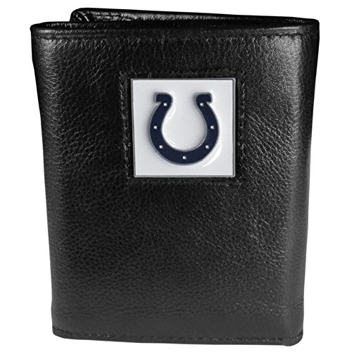 NFL Indianapolis Colts Leather Tri-fold Wallet by Siskiyou