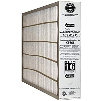 lennox carbon coated x6672 healthy climate merv 16 filter. lennox corporation x6666 merv 16 17 x 26 4\u0026quot; filter carbon coated x6672 healthy climate merv filter