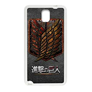 SKULL The Cartoon Anime Attack On Titan Cell Phone Case for Samsung Galaxy Note3