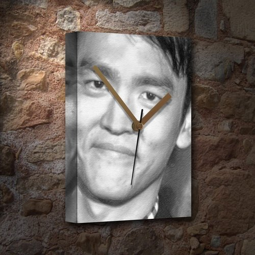 Seasons John CHO - Canvas Clock (Large A3 - Signed by The Artist) #js002