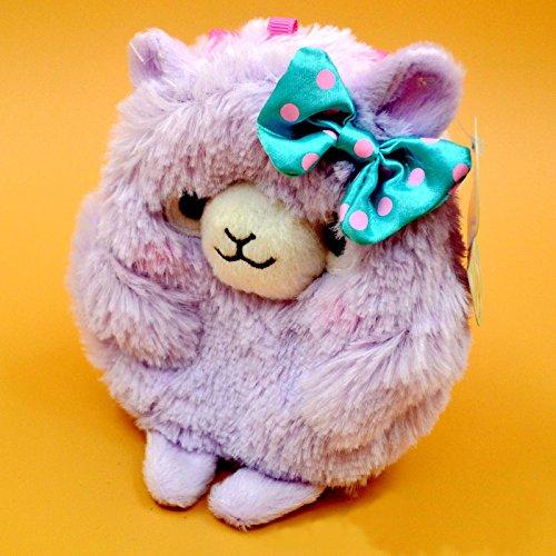 Tara 2015 New Design Arpakasso Alpacasso Alpacos Alpaca Stuffed Toys Change Purse Gift Lama Coin Bag Llama Zero Wallet Keychain Lavender