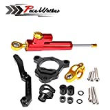motorcycle cnc Steering Damper with bracket Support For kawasaki Z800 2013-2014