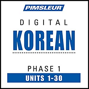 Korean Phase 1, Units 1-30 Speech