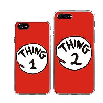 iphone 7 7plus couple case ttott 2x floral cute red amazon co ukiphone 7 7plus couple case ttott 2x floral cute red thing 1 2 design