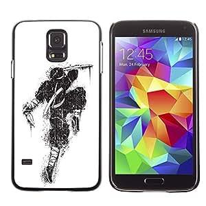 YOYO Slim PC / Aluminium Case Cover Armor Shell Portection //Awesome Graffiti Street Art Ninja //Samsung Galaxy S5