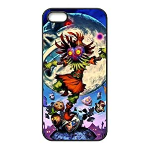 Majora's Mask iPhone 4 4s Cell Phone Case Black xlb-150420