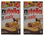 #10: Nutella B-ready 6 bar multipack 132 g (Pack of 2)