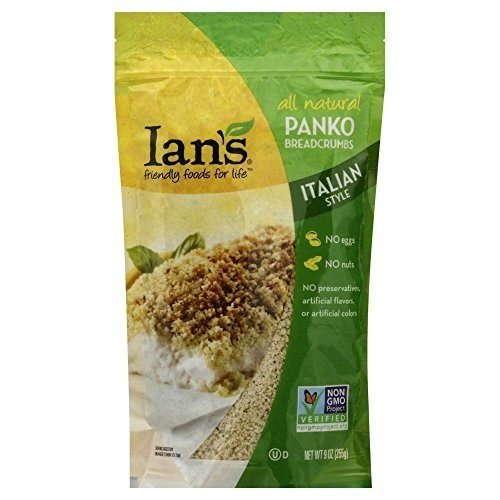 IANS NATURAL FOODS BREADCRUMB PANKO ITALIAN, 9 OZ, PK- 12
