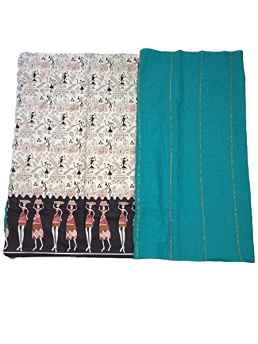 AdhritCreations Half Khess Half Malmal Cotton Saree for sale  Delivered anywhere in Canada