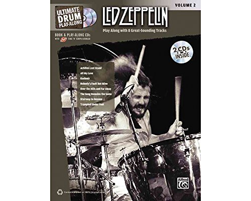 Alfred Led Zeppelin Ultimate Play Along Drums Volume 2 with 2 CD's ()