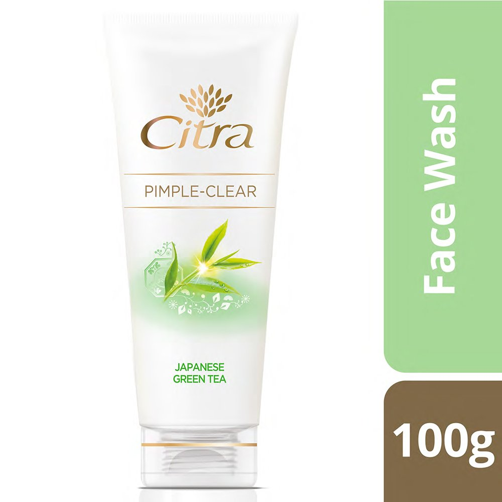 Citra Pimple Clear Face Wash With Japanese Green Tea-0