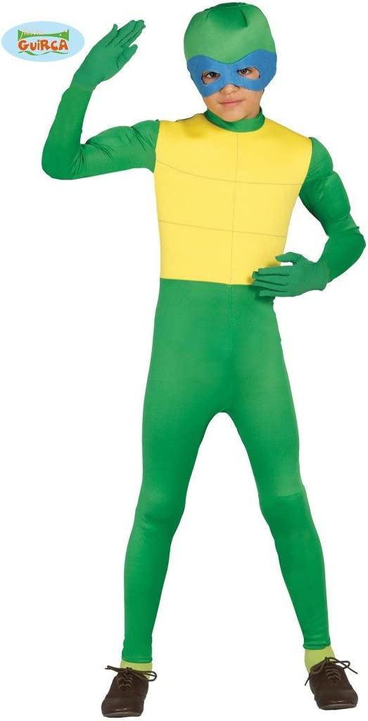 Disfraz de ninja verde para niño - 10-12 años: Amazon.es: Juguetes ...