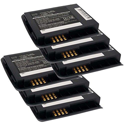 6x Exell EBS-CN50X2 Li-Ion 3.7V 4600mAh Batteries For Intermec CN50. Replaces Cameron Sino CS-ICN500BH, INTERMEC 318-039-001, AB25 by Exell Battery
