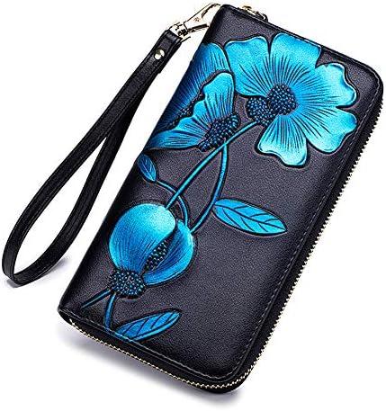 Badiya Blocking Wallet Embossed Wristlet product image