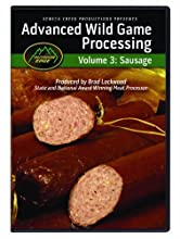 Outdoor Edge SP-101 Advanced Sausage Processing DVD Volume 3 2-Hours on Making Delicious Sausage in Your Home Smoker or Oven