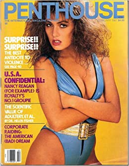 penthouse magazine february 1987 penthouse books. Black Bedroom Furniture Sets. Home Design Ideas