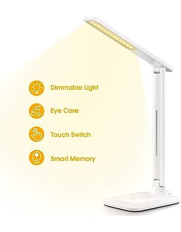 Snny New Eu Plug Aluminum Modern Led Table Lamps For Living Room Home Led Desk Lamp Bedroom Study Reading Eu Us Plug Acrylic L Easy To Lubricate Lights & Lighting Desk Lamps