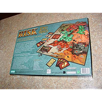 Risk: Lord of the Rings Trilogy Edition: Toys & Games