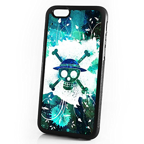 - ( For iPhone 8 / iPhone 7 ) Durable Protective Soft Back Case Phone Cover - A11085 One Piece Pirate
