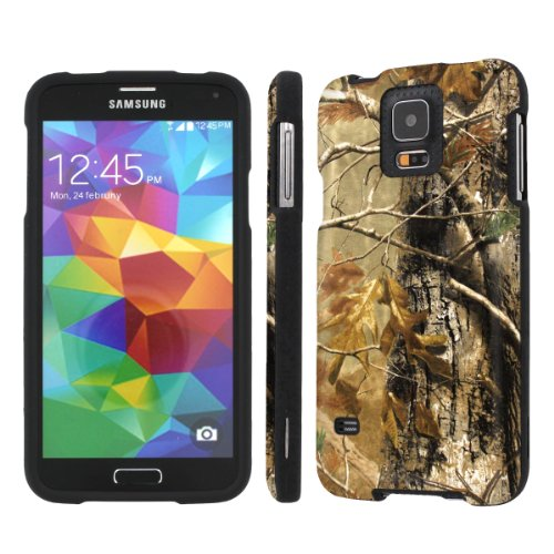 NakedShield Samsung Galaxy S5 S 5 (Hunter Camouflage) Total Hard Armor LifeStyle Phone (Lifestyle Carrying Case)