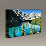 Acoustic Panel with art : 3'x2'x2'' - Majestic Mountain Lake