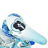 """Huffy 16"""" Disney Frozen Girls Bike with Basket & Streamers, Blue/Purple"""
