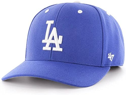 47 Gorra Ajustable Marca Audible Los Angeles Dodgers Royal: Amazon ...