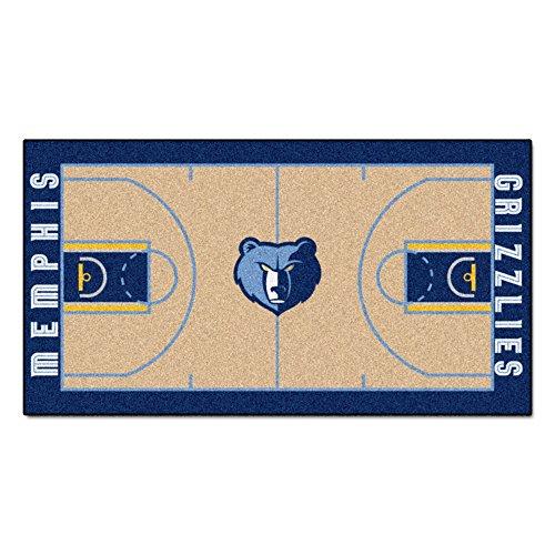 Memphis Runner - FANMATS NBA Memphis Grizzlies Nylon Face NBA Court Runner-Large