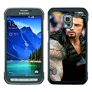 Beautiful Classic Wwe Superstars Collection Wwek Roman Reigns(1) Black Case For Samsung Galaxy S5 Active