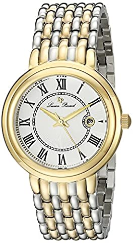 Lucien Piccard Women's LP-16539-SG-22S Fantasia Two-Tone Stainless Steel Watch with Link Bracelet (Fantasy Wrist Watch)