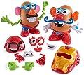 Mr. Potato Head Marvel Spider-Man vs. Iron Man Set by Playskool 32 Pieces