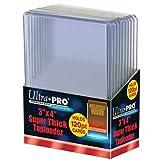 2 Ultra Pro 120pt Top Loader 20 Total