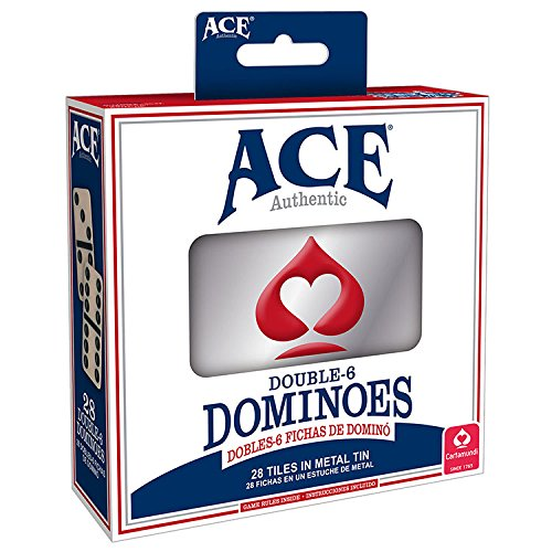 Domino Cards - Ace Double Six Dominoes Card Game