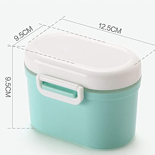 Latex Baby Storage 3 Box Newborn Food Milk Powder Container Container Products